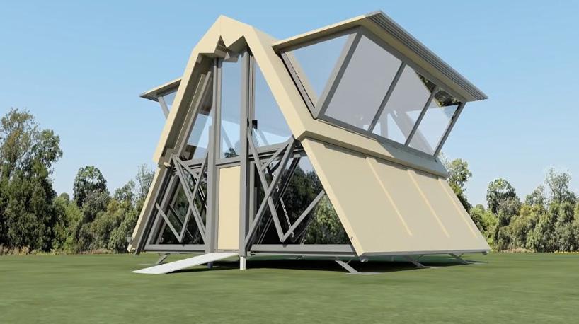 ¿Imaginas vivir en una casa desplegable? - Historias de Arquitectura